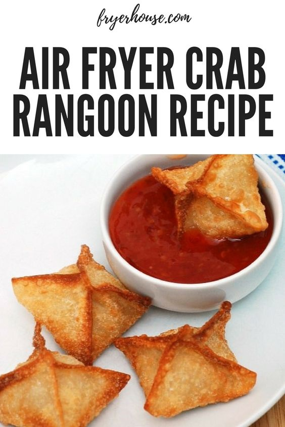 Easy Air Fryer Crab Rangoon Recipe