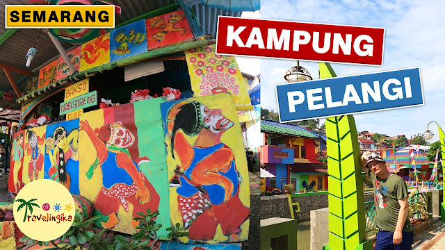 bule visited kampung pelangi