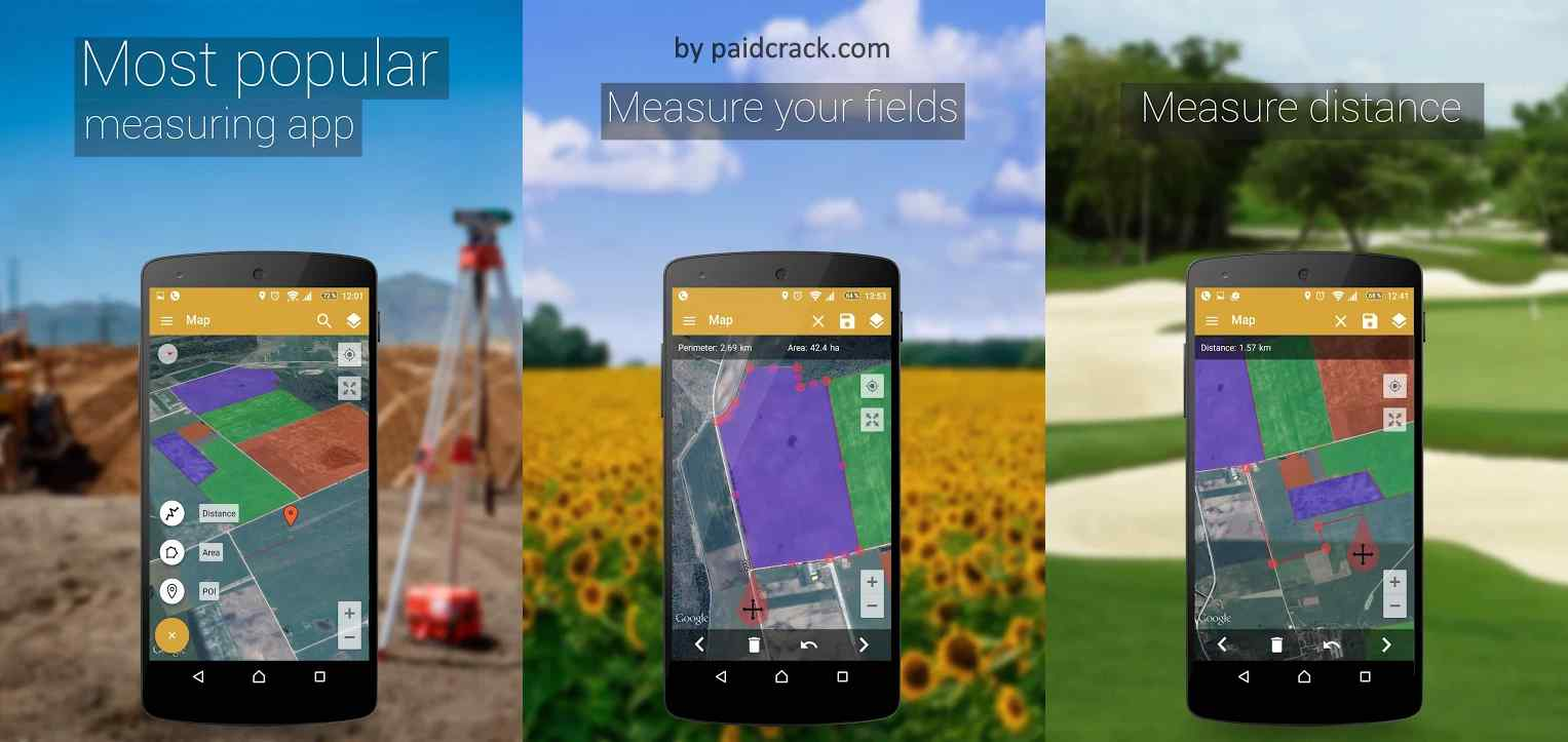 GPS Fields Area Measure PRO Mod Apk 3.11.2 [Paid]