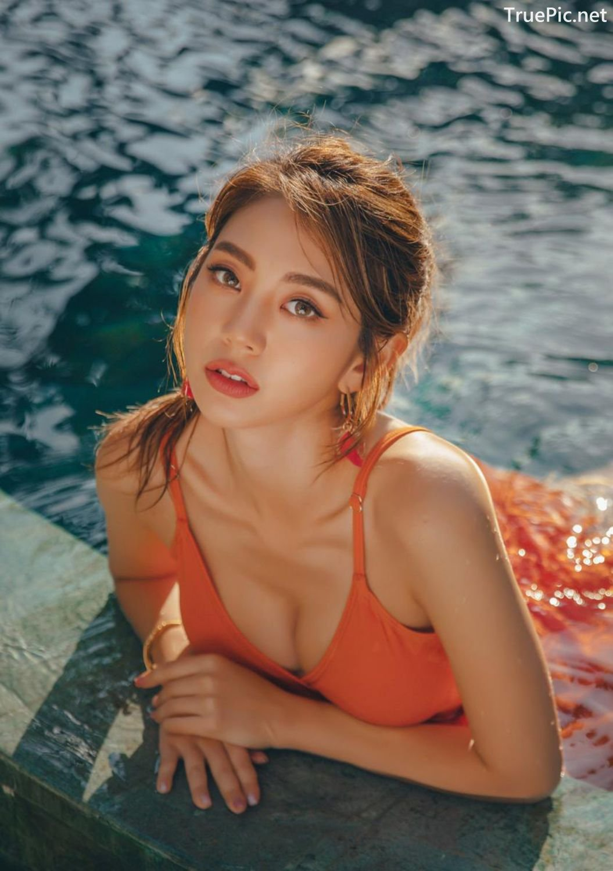 Image Korean Fashion Model - Lee Chae Eun - Sienna One Piece Swimsuit - TruePic.net - Picture-27