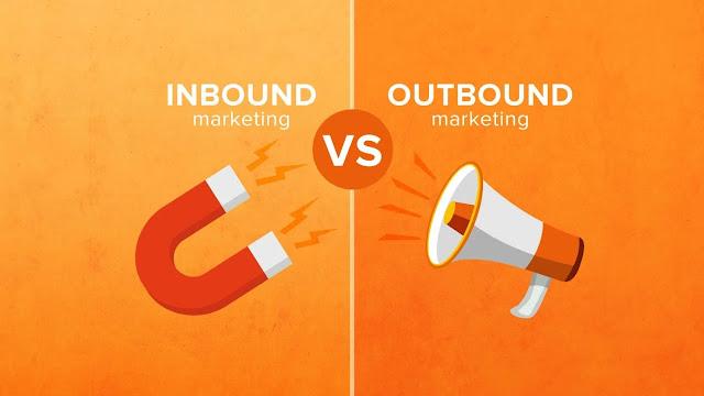 perbedaan inbound marketing dan outbound marketing
