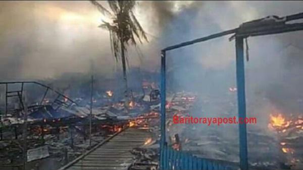 Aktivitas Pelabuhan Penajam Paser Utara Lumpuh Buntut Sejumlah Tempat Dibakar Massa