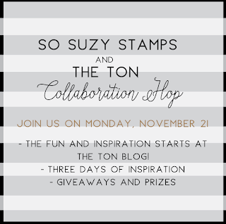 The Ton and So Suzy Stamps Collaboration, Day 1!