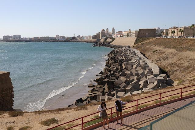 Vista atlántica de la ciudad de Cádiz