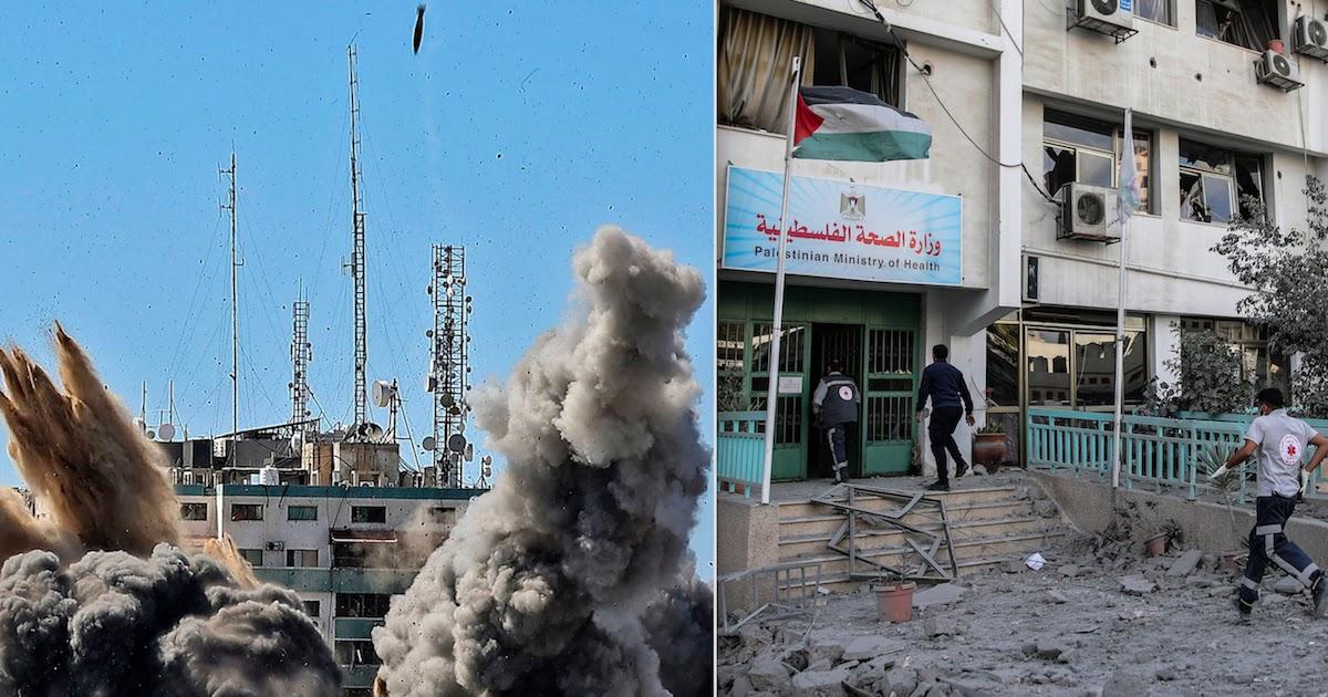 Israeli Airstrike Destroys Gaza's Only CoViD-19 Testing Lab