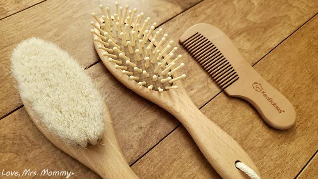 keababies, natural hairbrush, bamboo hairbrush, baby hairbrush, baby hairbrush set