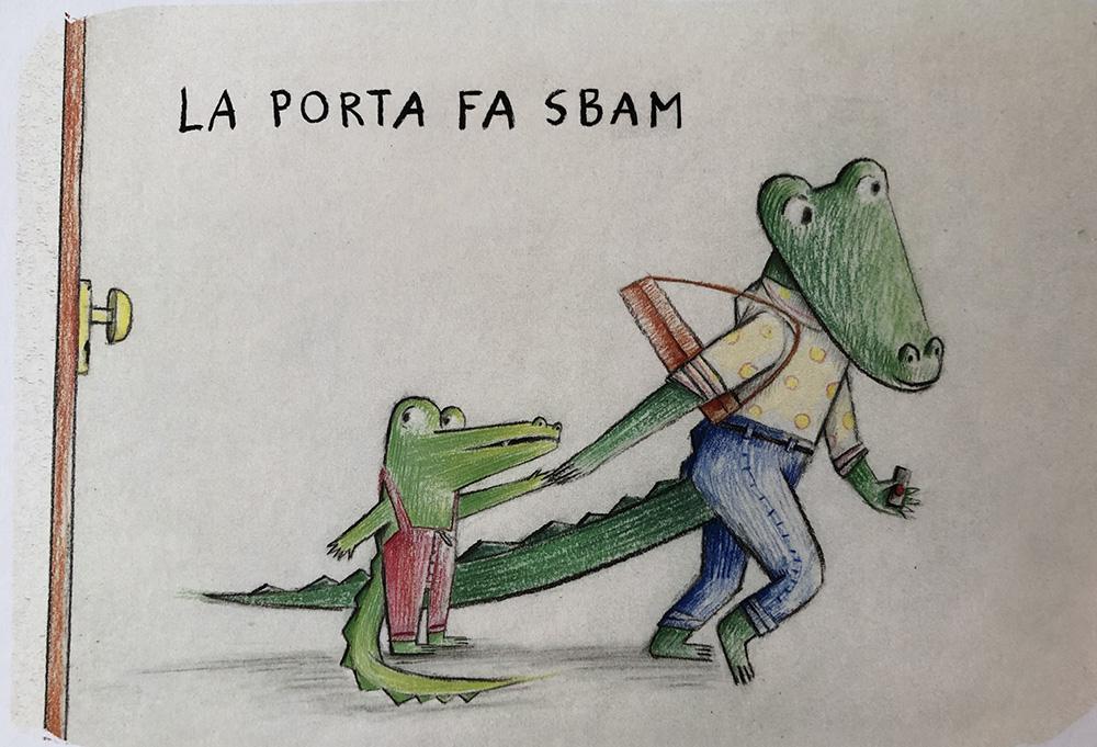 cosa dice piccolo coccodrillo