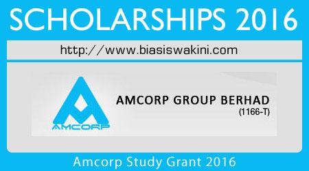 Amcorp Study Grant 2016