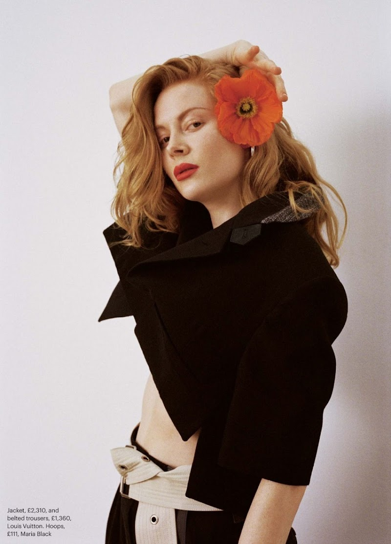 Emily Beecham Featured in Sunday Times Style - May 2021
