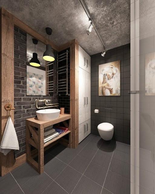 Simple Interior House Design Bathroom