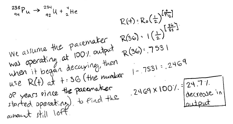P Dog S Blog Boring But Important Physics Final Exam Problem Plutonium Powered Pacemaker
