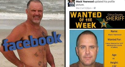 man uploaded wanted poster facebook