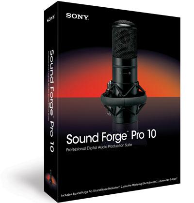 Sony Sound Forge Pro Windows 10