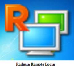 Remote Login with RAdmin