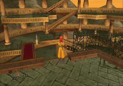 Dragon Quest VIII - El Periplo del Rey Maldito - Torre laberinto