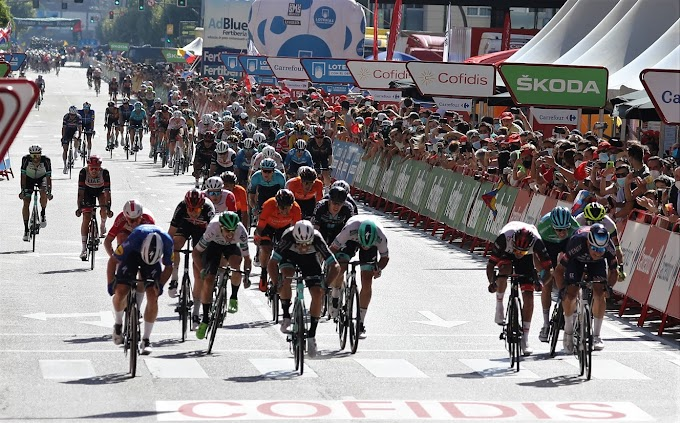 Vuelta a España 2021 - 2ª etapa clasificación