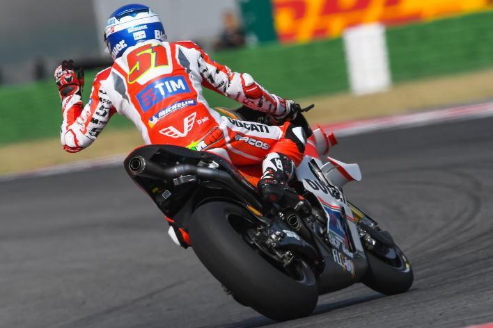 Absen di Misano karna cedera, Andrea Iannone akan digantikan oleh Michele Pirro