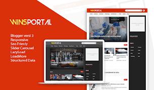 WinsPortal v3.0 Responsive Blogger Template