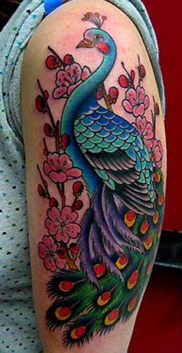 Peacock Tattoo: Wheres The Karma?: Awesome Peacock Tattoos