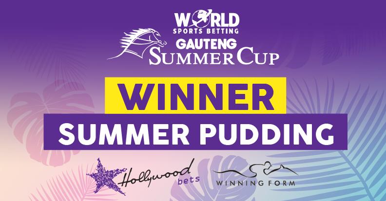 Summer Pudding has won the WSB Gauteng Summer Cup