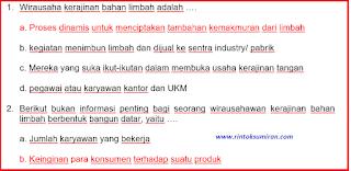 """Soal Pppk Profesioal Mapel Prakarya Dan Kewirausahaan (Pkwu) """" Kerajinan Dan Bahan Limbah Berbentuk Bangun Datar"""""""