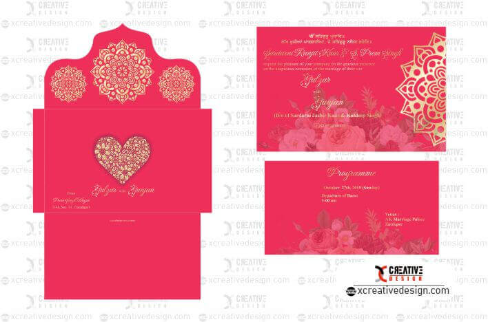 Wedding Card Design image