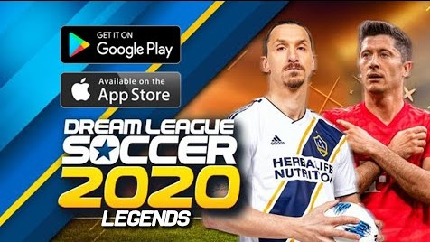 Dream League Soccer 2020 Legends Edition (Online+Offline) 350 MB HD Graphics