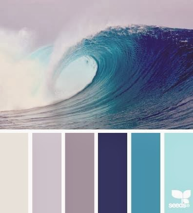Ocean colour palette