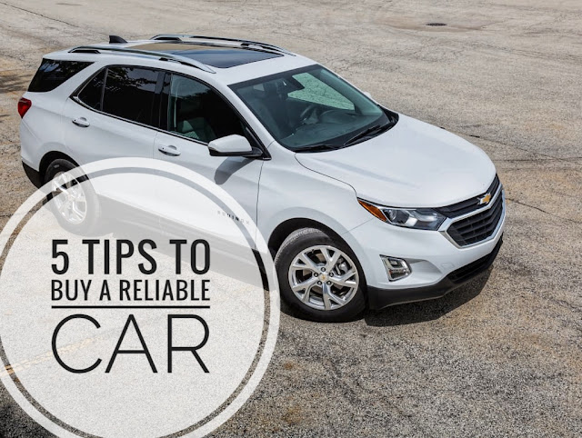5 tips to buy a reliable car