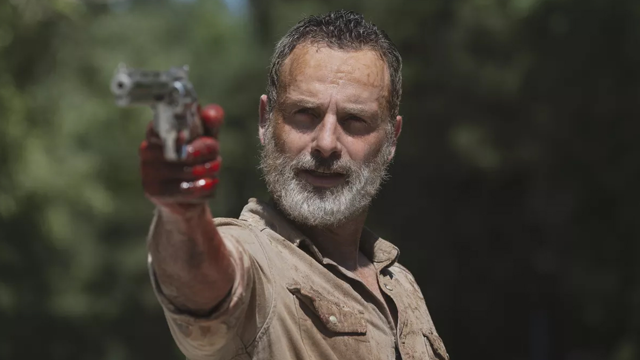 Fotografía de Andrew Lincoln en 'The Walking Dead'