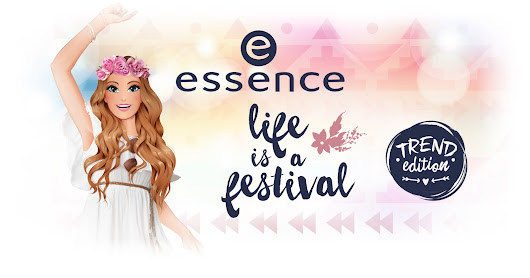 "[PREWiEW] essence trend edition ""life is a festival"""