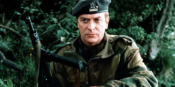 Michael Caine disguised as a Polish paratroop officer in The Eagle Has Landed
