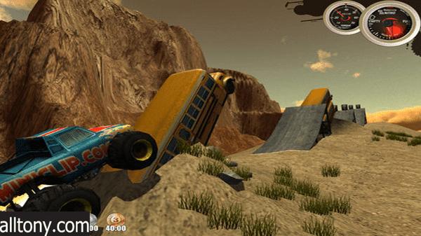 تحميل لعبة Monster Trucks Nitro للكمبيوتر برابط مباشر لعبة السباق