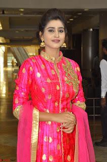 Shamili in Pink Anarkali Dress 05.JPG