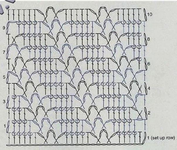 Suéter juvenil tejido al crochet / moldes y patrones | Crochet y Dos ...