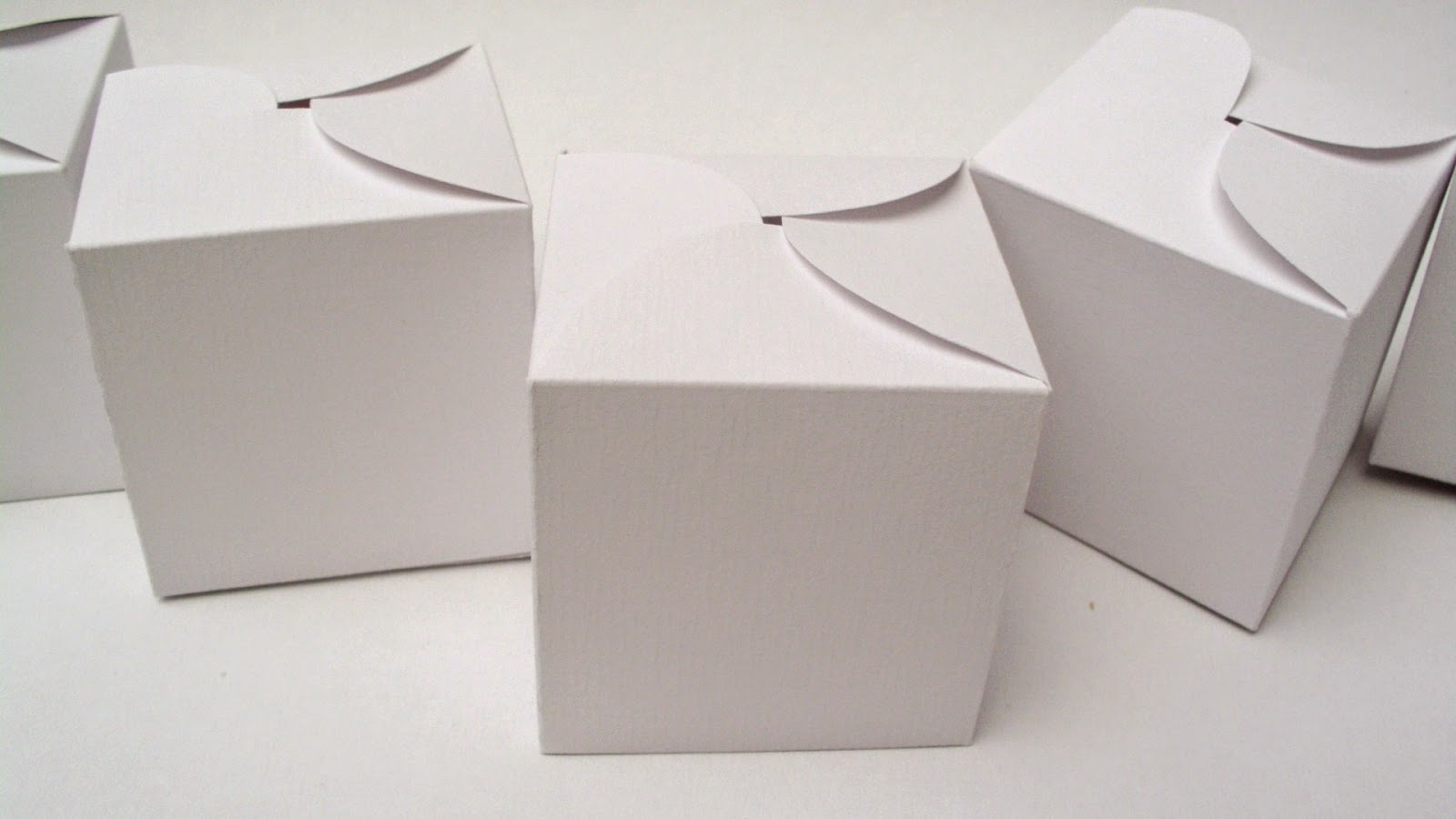 handmade square favor box