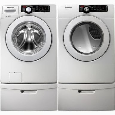 samsung front load washer reviews. Samsung White 3.6 CF DOE Front Load Washer \u0026 7.3 Dryer Laundry Set With Pedestals Reviews S