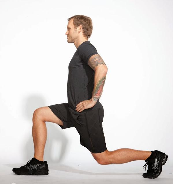 Напади - изненадващо добро упражнение за крака