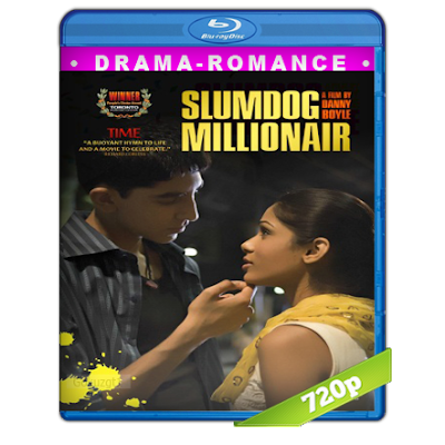 Quisiera Ser Millonario (2008) BRRip 720p Audio Trial Latino-Castellano-Ingles 5.1