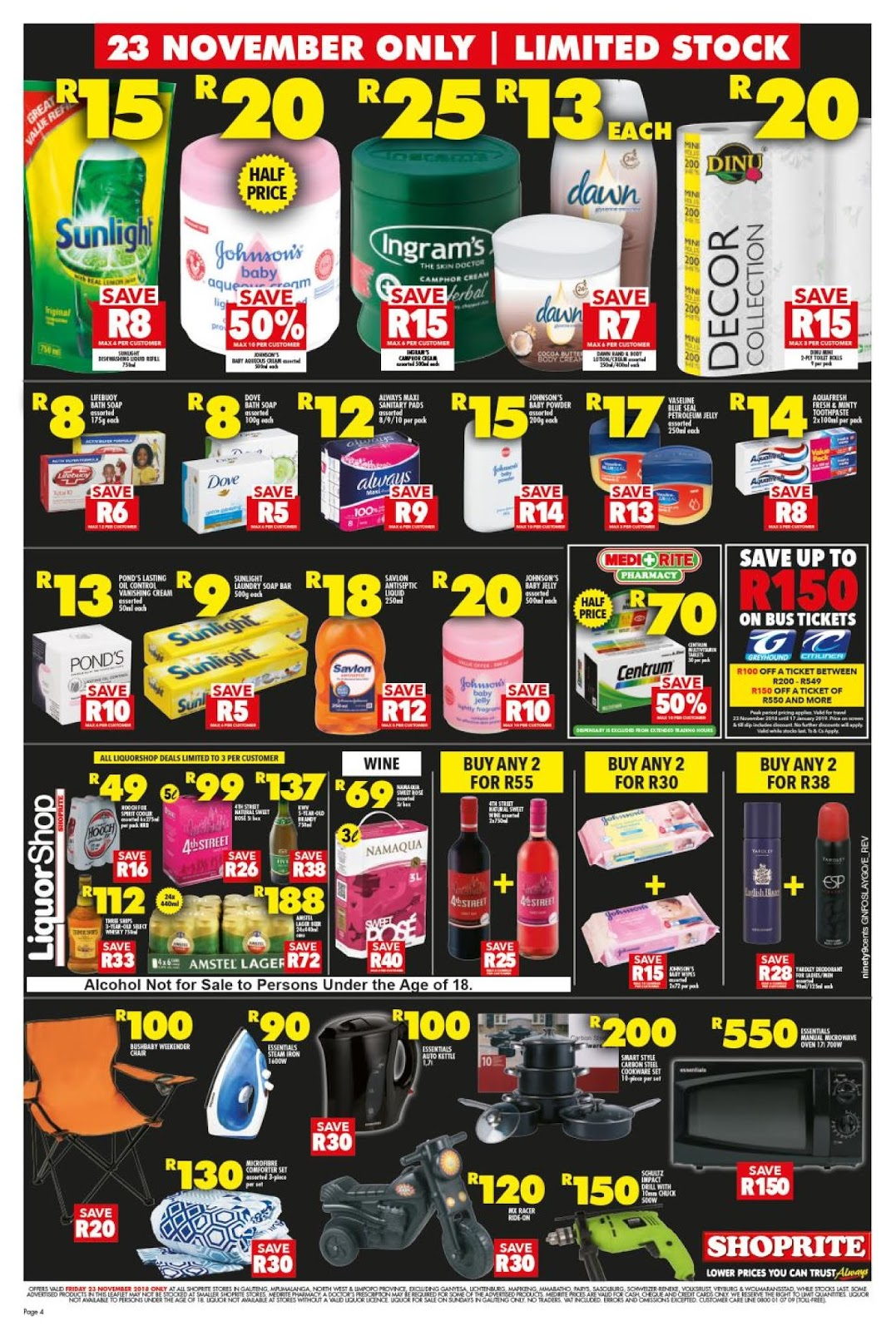 Shoprite Gauteng Black Friday Deals 2018 Blackfriday