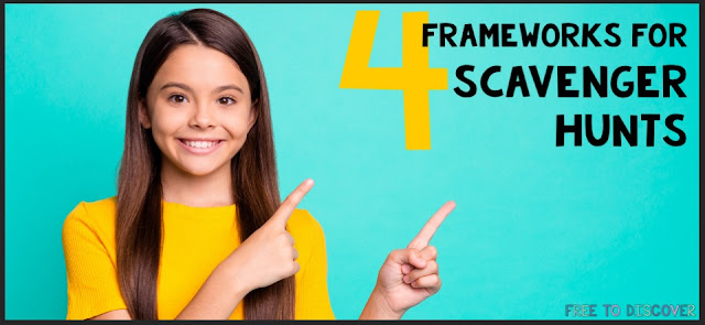 4 Frameworks for Math Scavenger Hunts