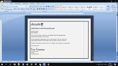 Gambar ilustrasi membuka file dokumen word