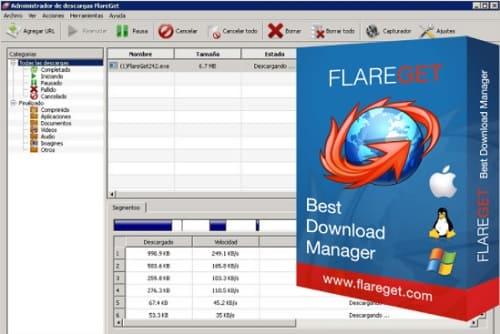 تحميل برنامج flareget للكمبيوتر