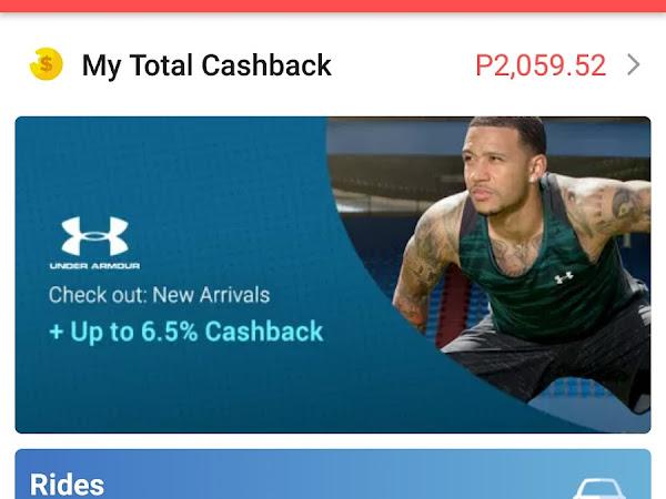 Love the app that gives cashback: Shopback
