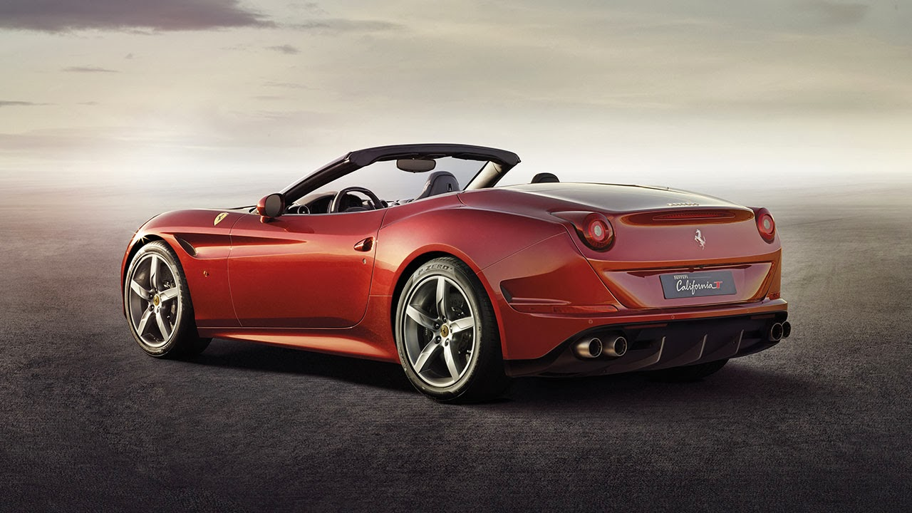 Ferrari California T rear