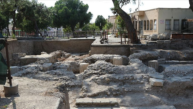 Hellenistic-era temple unearthed in western Turkey