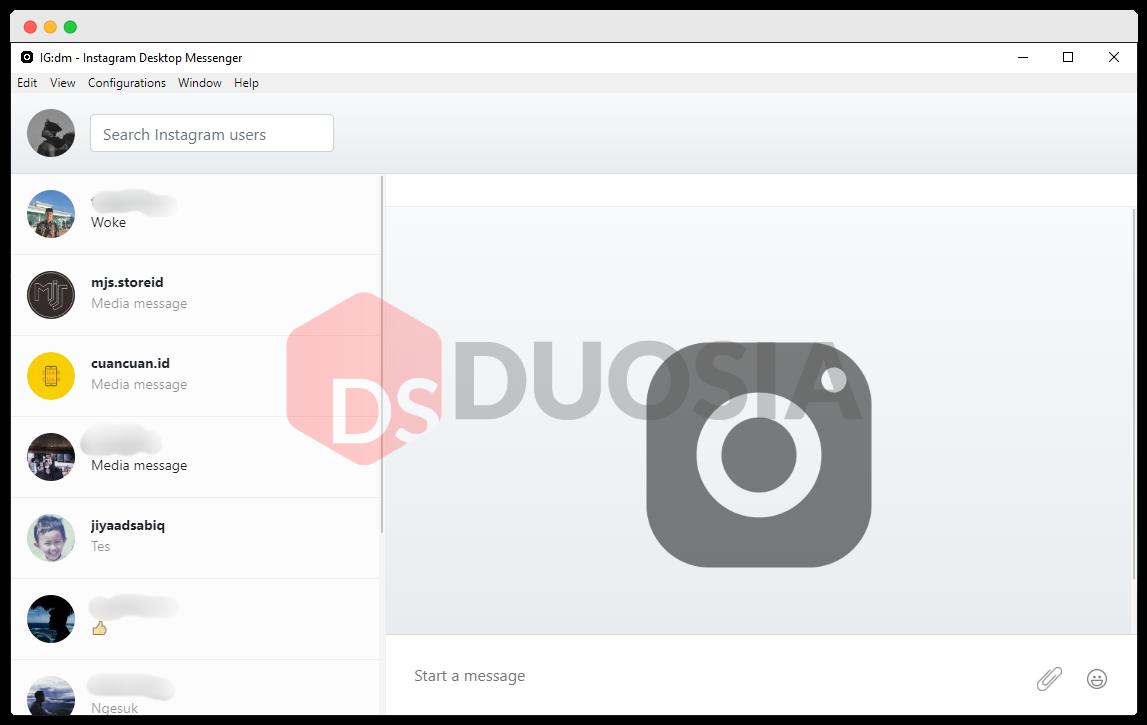 Instagram Direct Message for pc installer