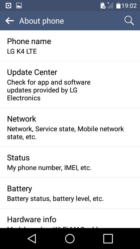 LG K4 LTE LG K120 MT6735 5 1 1 Frimware File LG K4 LTE LG