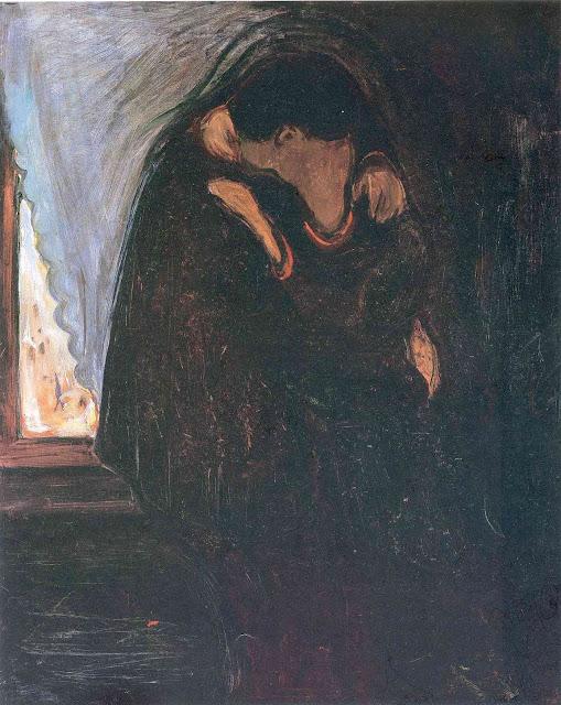 Эдвард Мунк - Поцелуй. 1897
