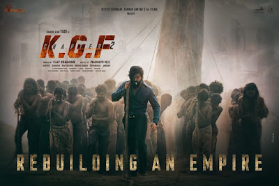 Yash Starrer 'KGF Chapter 2' First Look | Prabhas 'Baahubali 2' Vs Yash 'KGF Chapter 2' South Indian Film